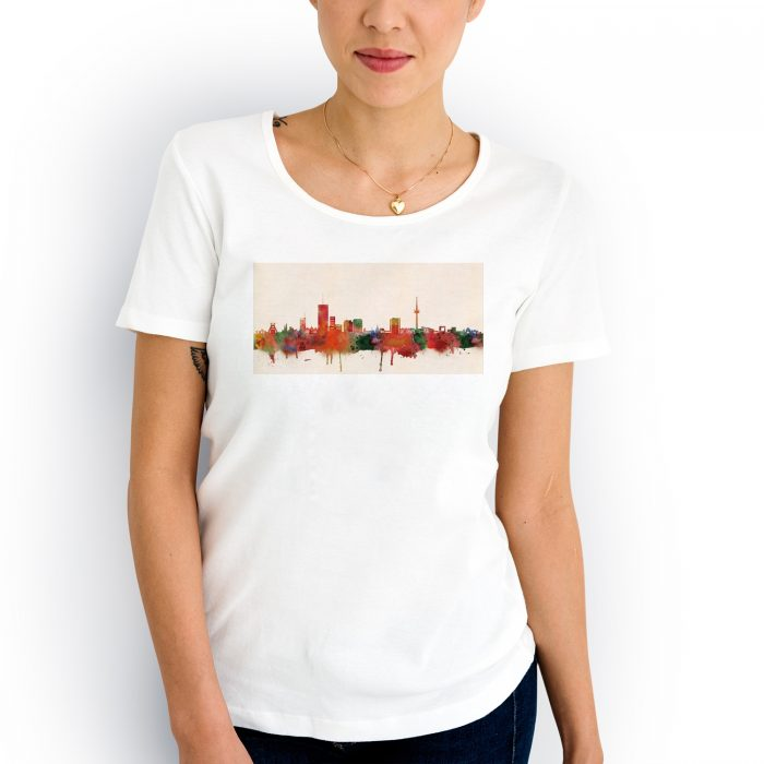 Essen Skyline Farbe 2 700x700, Kunstbruder