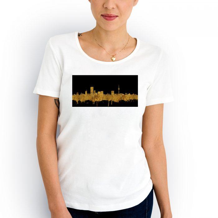 Essen Skyline Gold 2 700x700, Kunstbruder