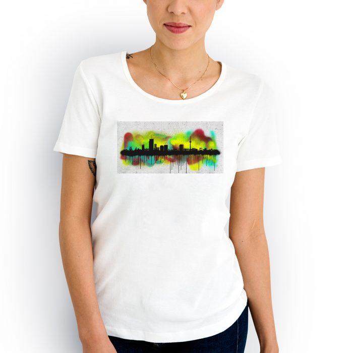 Essen Skyline Graffiti 2 700x700, Kunstbruder