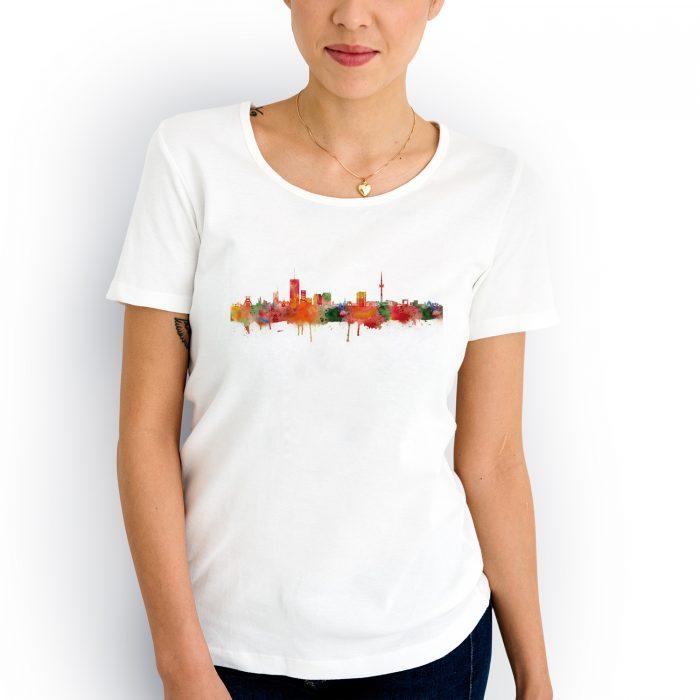 Essen Skyline Light 2 700x700, Kunstbruder