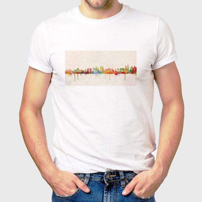 Goettingen Skyline Farbe 700x700, Kunstbruder