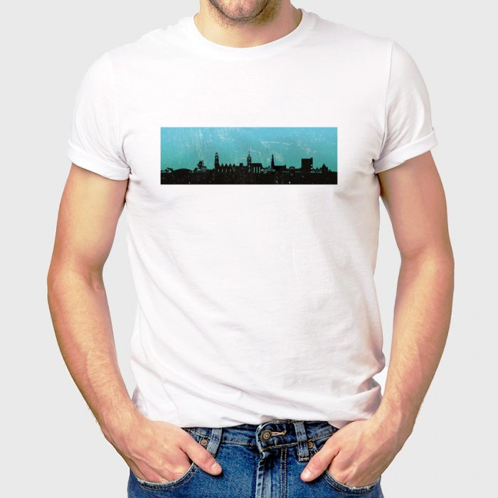 Hannover Skyline Tuerkis 1 700x700, Kunstbruder