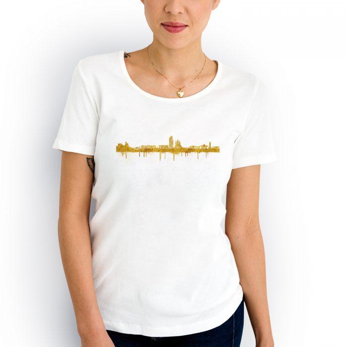 Kaiserslautern Skyline Weiss Gold 2 700x700, Kunstbruder