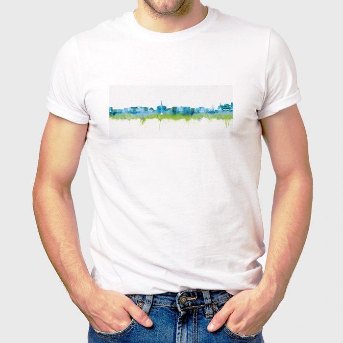 Kassel Skyline Blau 1 700x700, Kunstbruder