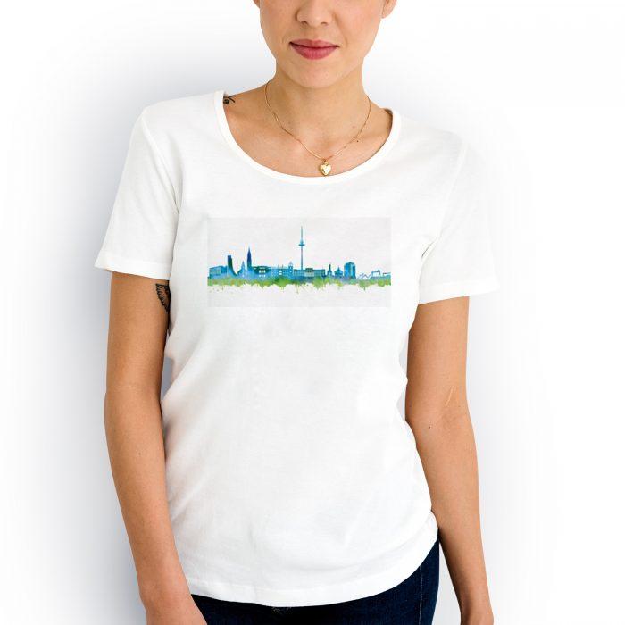 Kiel Skyline Blau 2 700x700, Kunstbruder