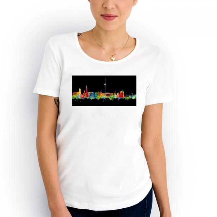 Kiel Skyline Neon 2 700x700, Kunstbruder