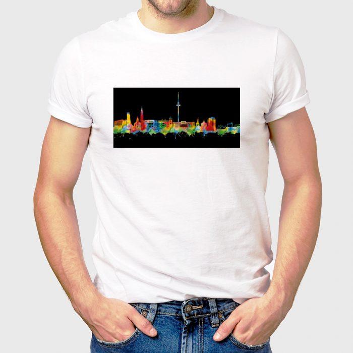 Kiel Skyline Neon 700x700, Kunstbruder